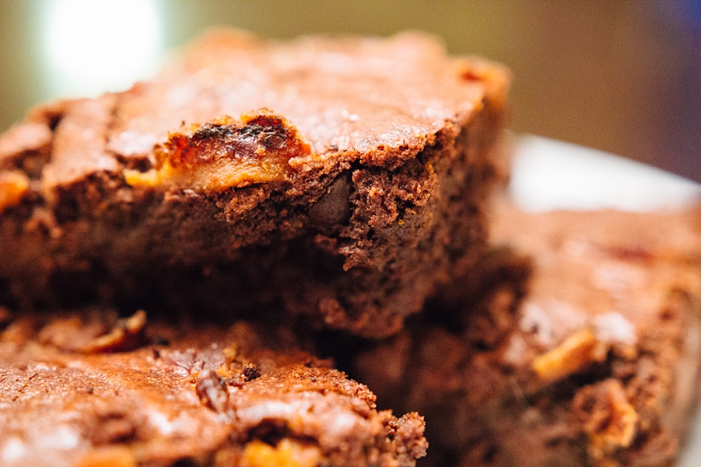 Bacon-Brownies